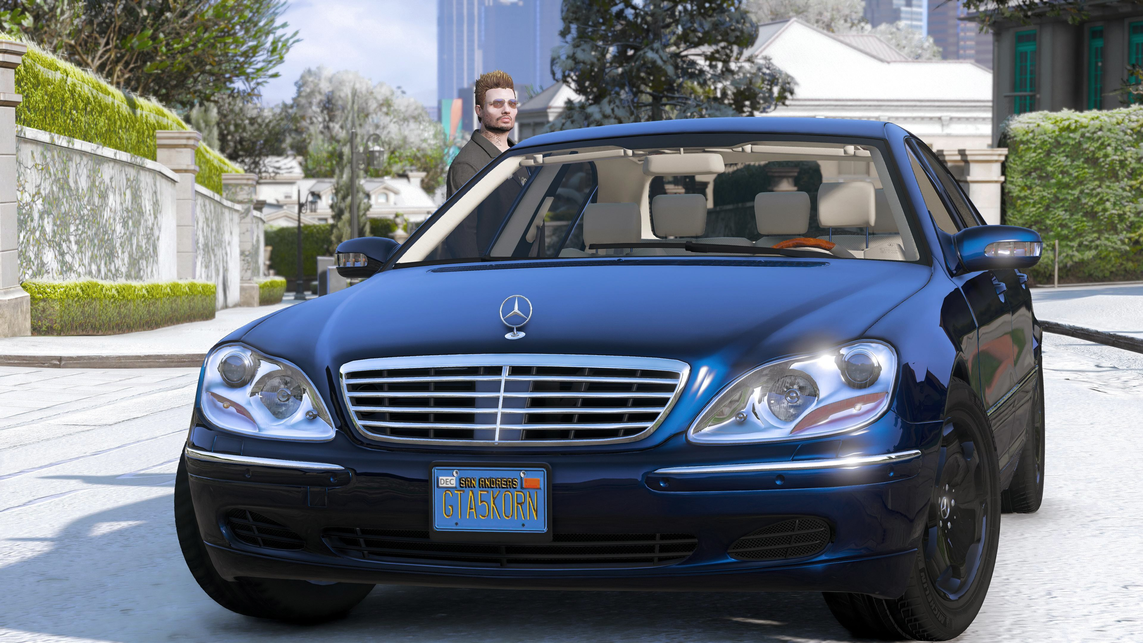 Mercedes benz s600 w220 v hicules t l chargements gta 5 for Mercedes benz s600