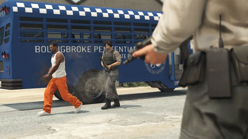 Simple Prisoner Arrest