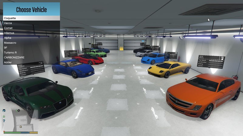 single player garage mods t l chargements gta 5. Black Bedroom Furniture Sets. Home Design Ideas