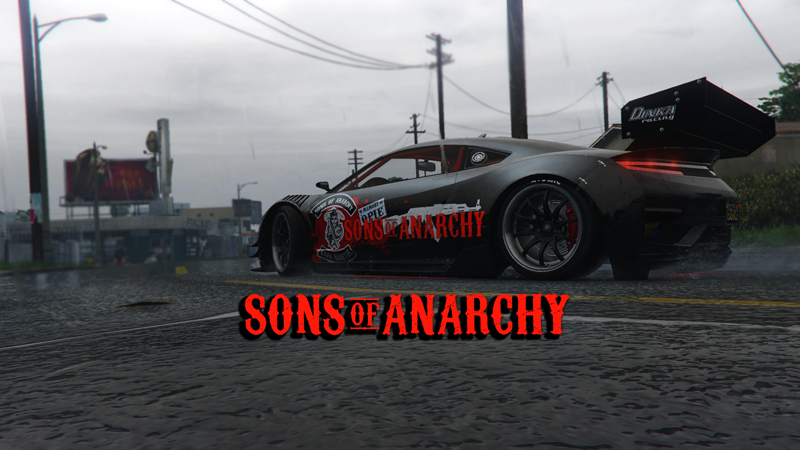 Sons of Anarchy Jester Texture