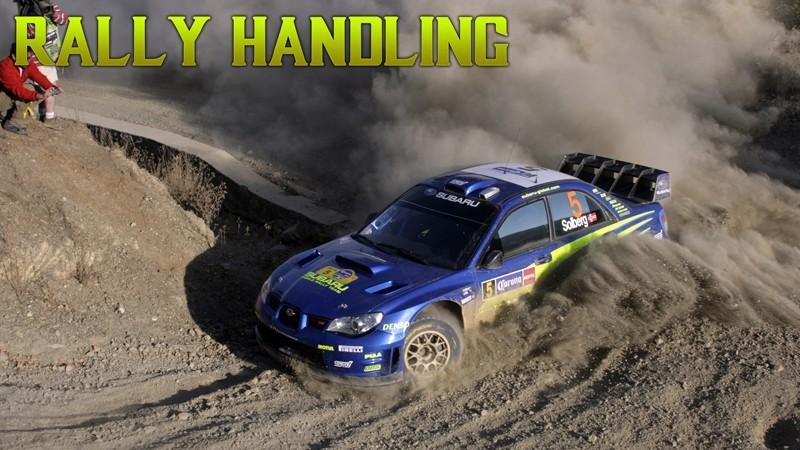 Subaru Rally Car Handling