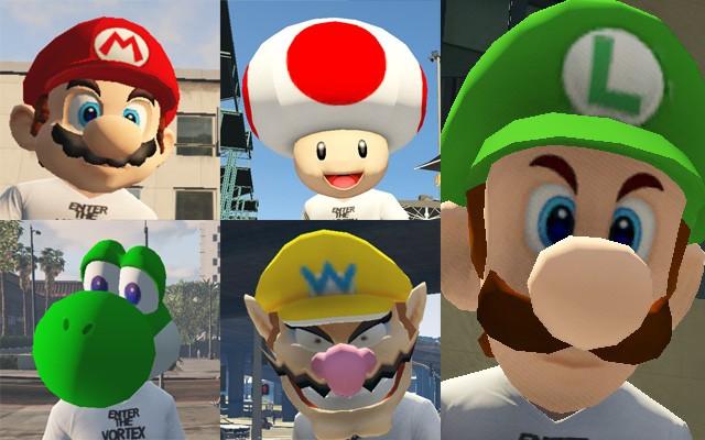 Super Mario Masks