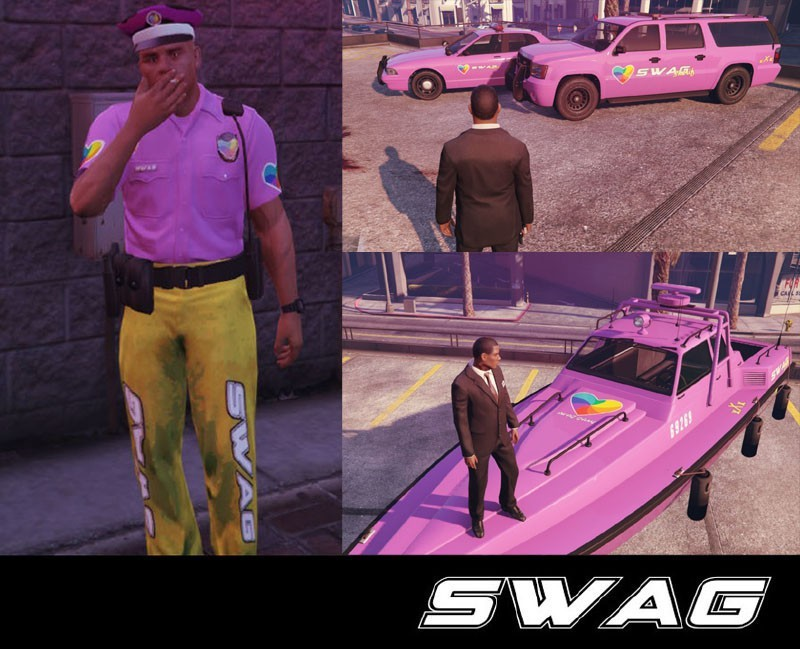 WTF Police SWAG Force