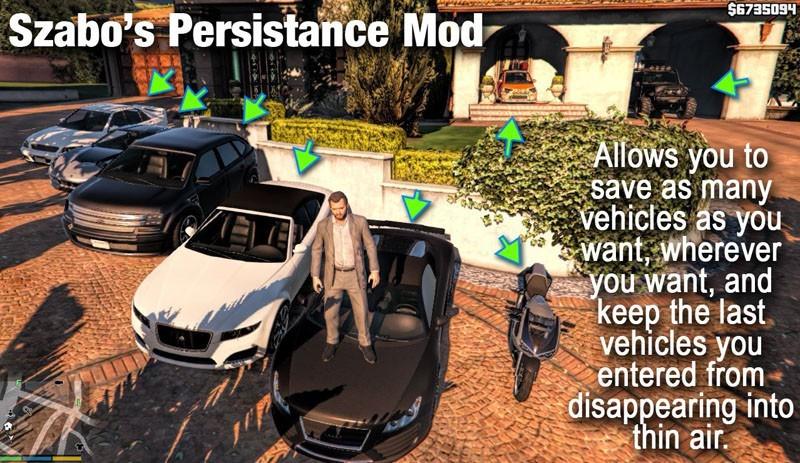 Szabo's Persistance Mod