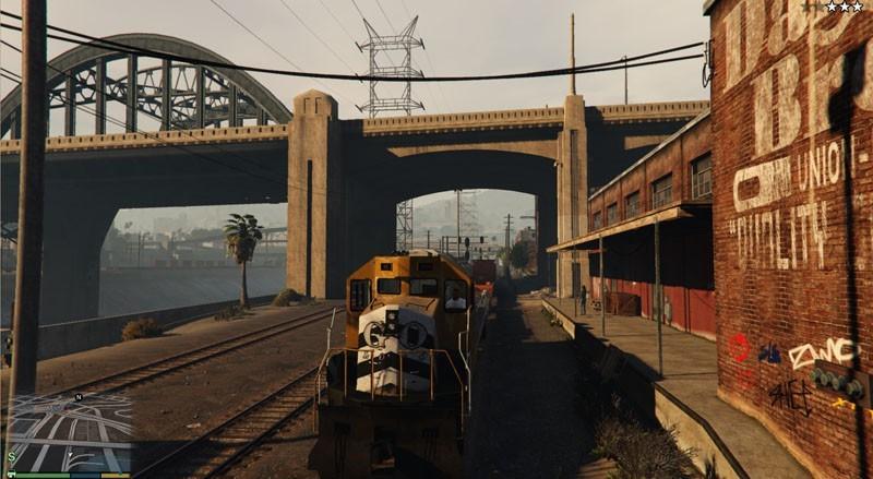 Enhanced Train Driver GTA 5