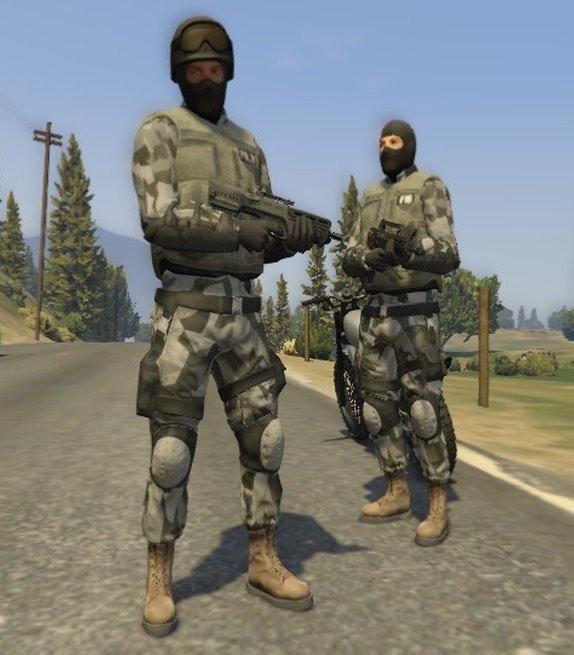 Urban SWAT Retexture
