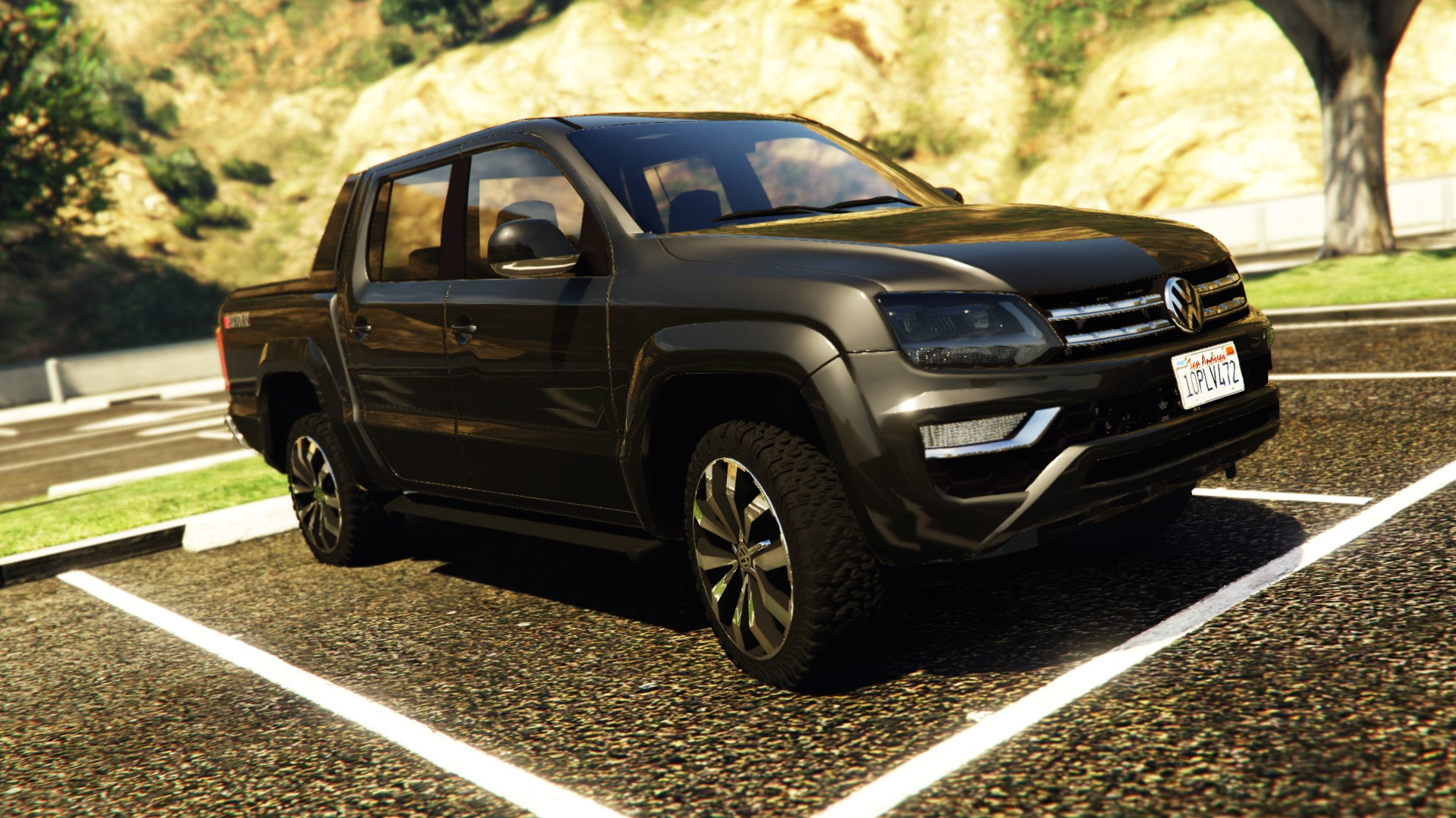 volkswagen amarok 2017 v hicules t l chargements gta 5. Black Bedroom Furniture Sets. Home Design Ideas