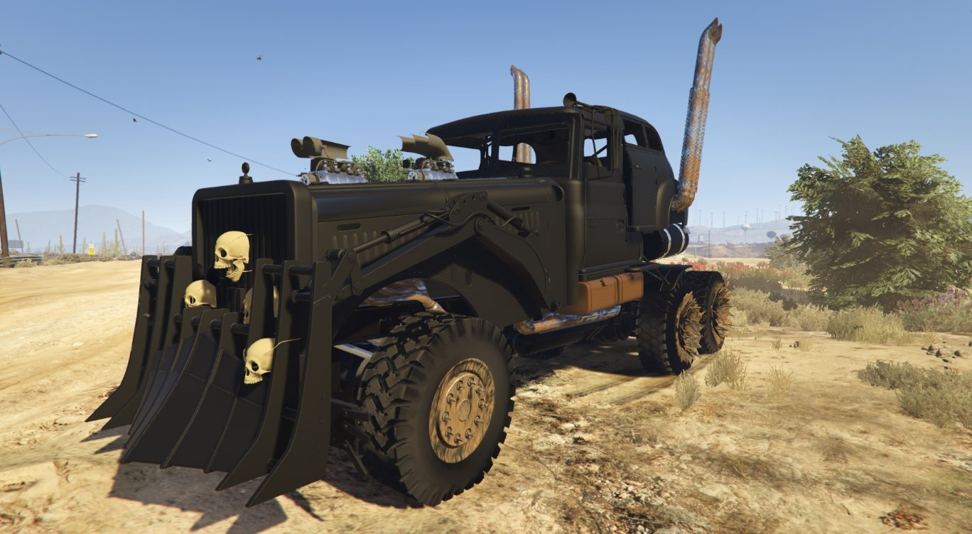 mad max the war rig v hicules t l chargements gta 5. Black Bedroom Furniture Sets. Home Design Ideas