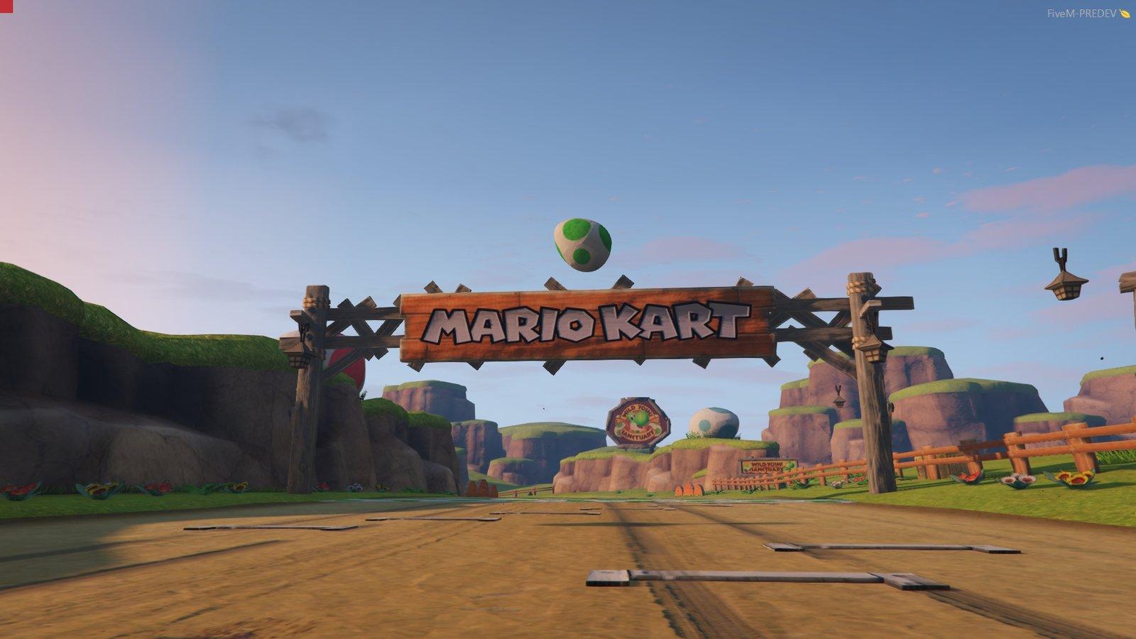 Mario Kart 8 - N64 Yoshi Valley